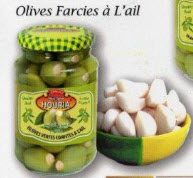 Olives Farcies A L'ail/Stuffed Olives With Garlic